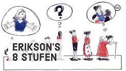 Die 8 Stufen der Entwicklung nach Erik Erikson