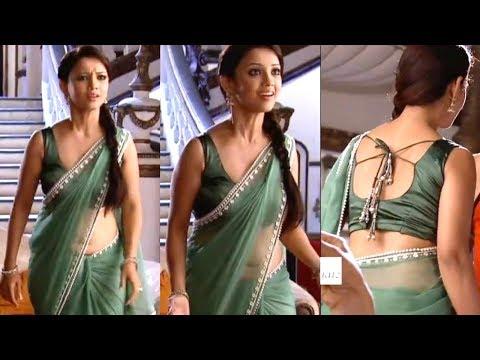 Aada Khan - TV actress hot navel in saree thumbnail