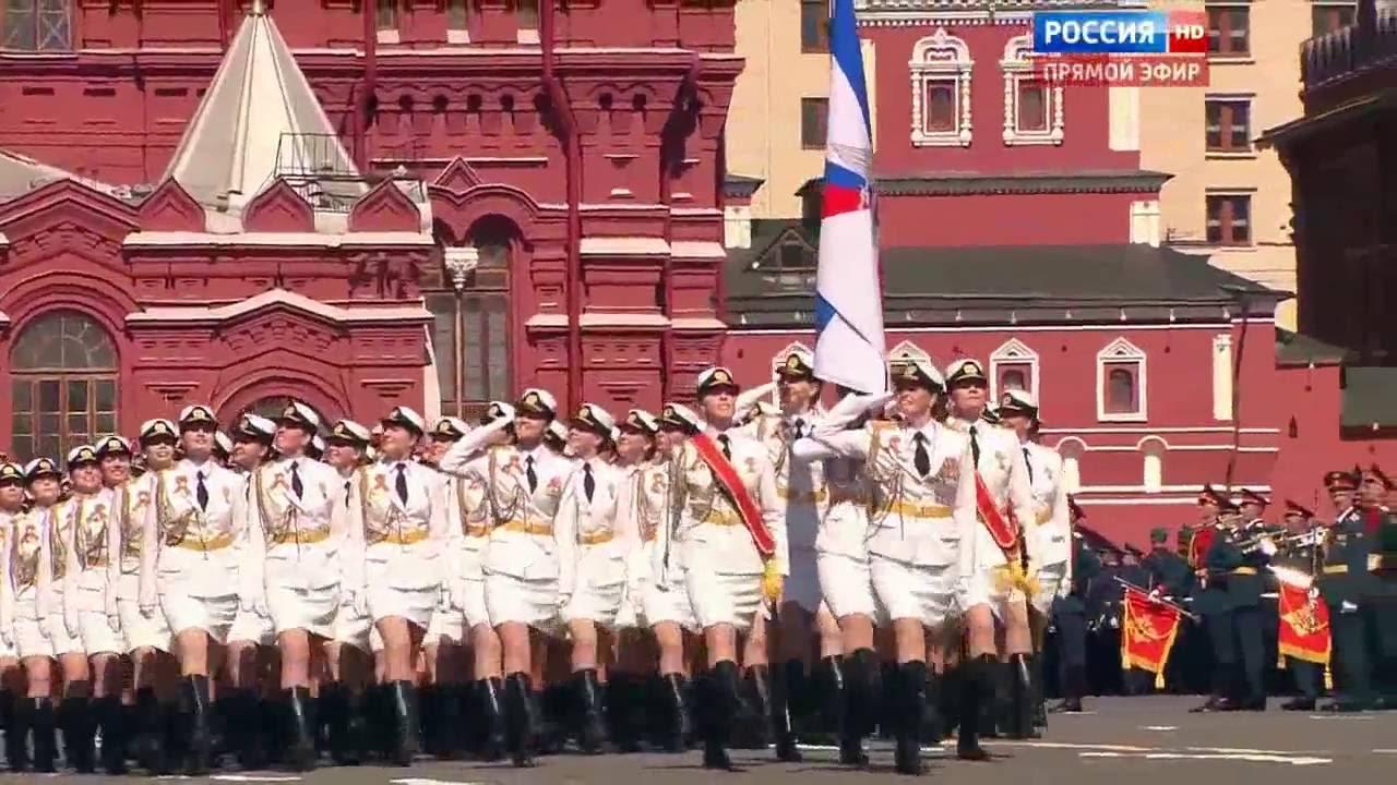 Украшение Парада Победы на Красной Площади 9 мая 2016 года ...