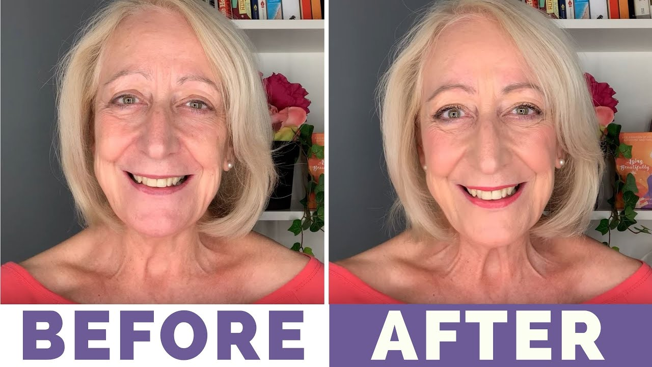 Wow! My First Bobbi Brown Makeup for Older Women Tutorial (What a  Difference!)
