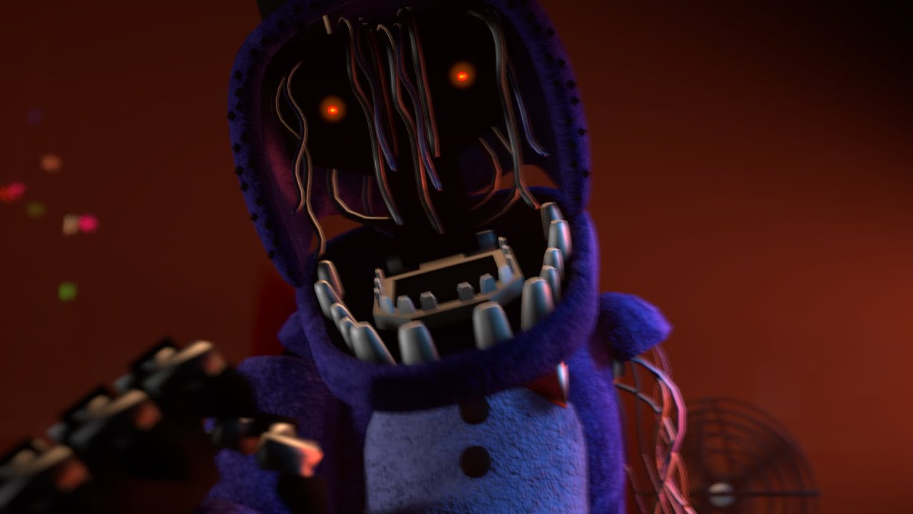 [FNAF SFM] Withered Bonnie Jumpscare (New Model) - YouTube