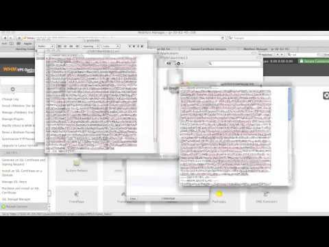 Installing a Godaddy SSL Certificate in WHM cPanel