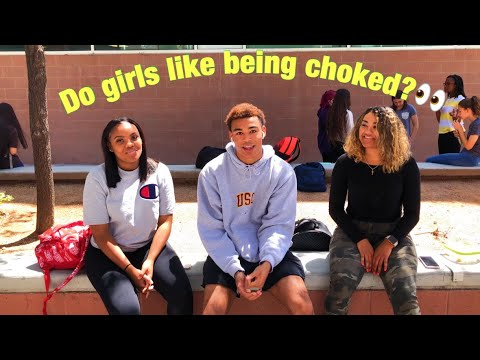 Why do girls like being choked