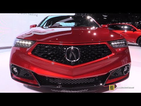 2020 Acura TLX PMC - Exterior and Interior Walkaround - Debut at 2019 NY Auto Show