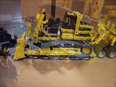 Lego Model Team Truck 5571 Black Cat Mit Zwillingsreifen Eigenbau
