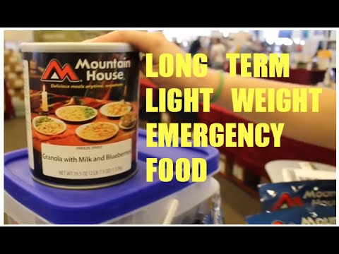 30 year shelf life emergency food :Prepper Expo Arizona