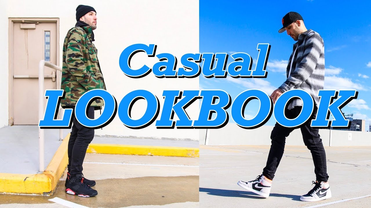 "[VIDEO] - CASUAL LOOKBOOK - AIR JORDAN 1 ""HYPER CRIMSON"" - AIR JORDAN 6 ""INFRARED"" - NIKE AIR FORCE 1 ON FEET 1"