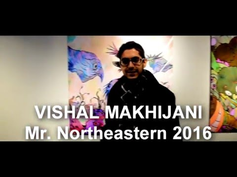 Vishal Makhijani | Northeastern University | Mr. Boston 2016