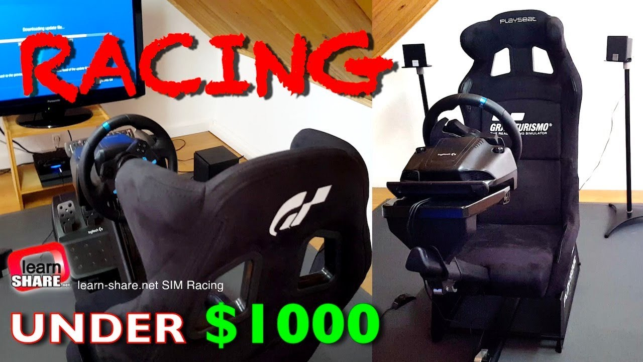 52ca41c1c9c SIM Racing Rig: Racing Simulator Setup Under $1500 - Sim Racing ...
