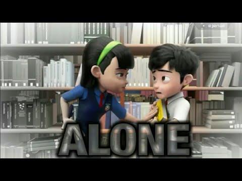 [Alone] Ejen Ali x Ejen Alicia