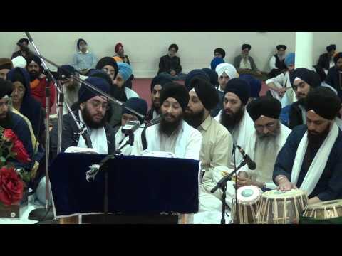Bhai Jagpal Singh Kanpur - New Jersey Samagam, Carteret 07 April 2013
