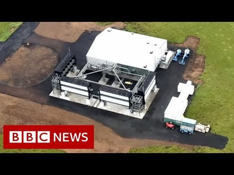 World's largest carbon dioxide sucking factory opens in Iceland - BBC News