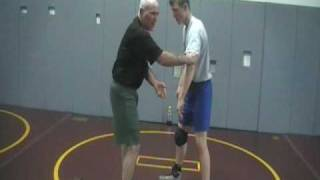 Jerry Kelly, firemans carry setup #1, isi school of wrestling