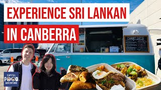 We try Sri Lankan food for the first time | Short Eats Sri Lankan Van | what to do in Canberra