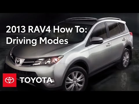 2013 RAV4 How-To: Driving Modes | Toyota