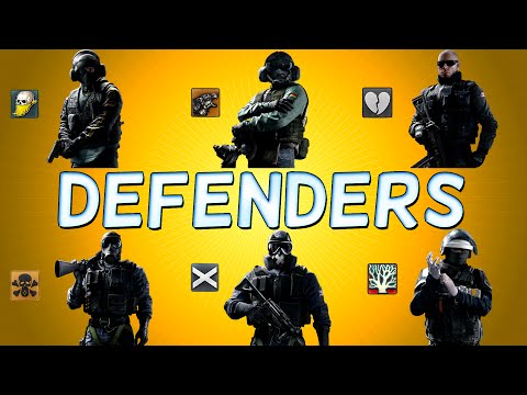 Rainbow Six Siege Operators DEFENDERS - Rainbow Six Siege Overview