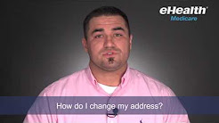 How Do I Change My Address for my Medicare Plan?