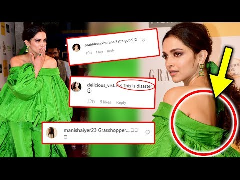 Deepika Padukone TROLLED For Her Green Outfit | Grazia Millennial Awards 2019 Mp3