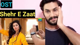 INDIAN Reacts to Shehr E Zaat | OST | AMAZING | 👍