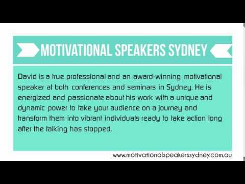 Rock Your Event With Motivational Speakers Sydney