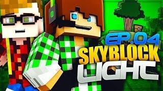 DOPPIO MOB GRINDER POTENTIXXIMO! - Minecraft Skyblock Light con Surry e St3pny - E4
