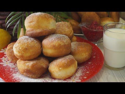 Пончики.  Мягкие, Воздушные и Безумно Вкусные!