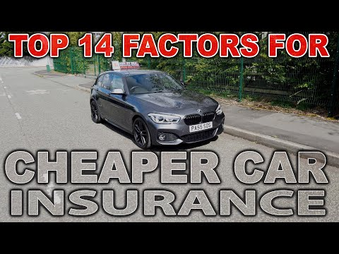 Top 14 Factors For Cheaper Car Insurance | Including The Pro's And Con's Of Black Boxes