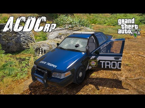 GTA 5 ACDCrp - Episode 55 - Taking Fire in the Forest.