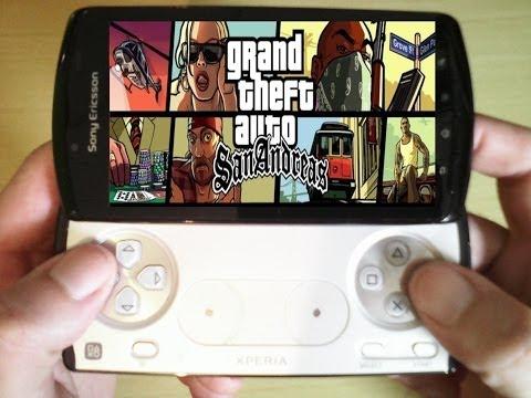 Xperia Play GTA San Andreas
