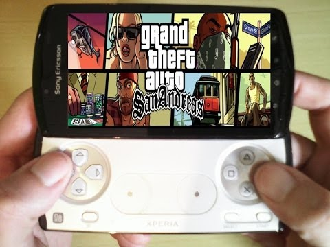 Xperia Play GTA San Andreas