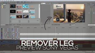 Como Tirar / Remover o Lag / bug do Preview Do Sony Vegas Pro ( Qualquer Versão )