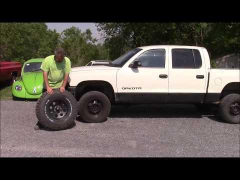 Upgraded Wheel & Tire Package, Dodge Dakota Part 1,  lastchanceautorestore com