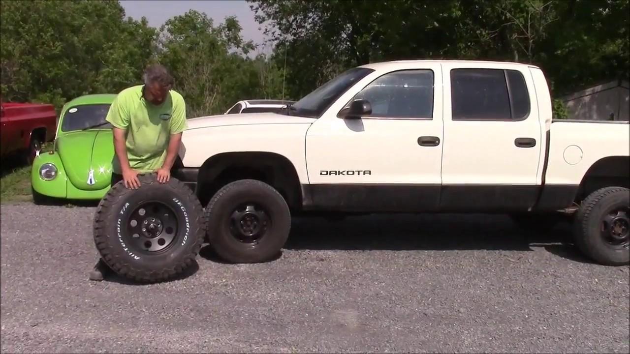 Maxresdefault on Dodge Dakota On 35s
