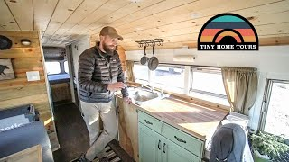 Very Detailed Skoolie Tour // Every Aspect Of A Skoolie Build Covered In This Video //