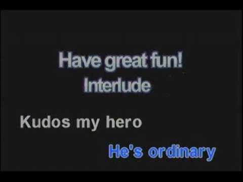 Karaoke - Foo Fighters - My Hero (acoustic)