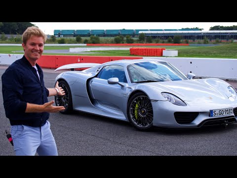 MY PORSCHE 918 HOTLAP AT SILVERSTONE F1 TRACK | NICO ROSBERG | eVLOG