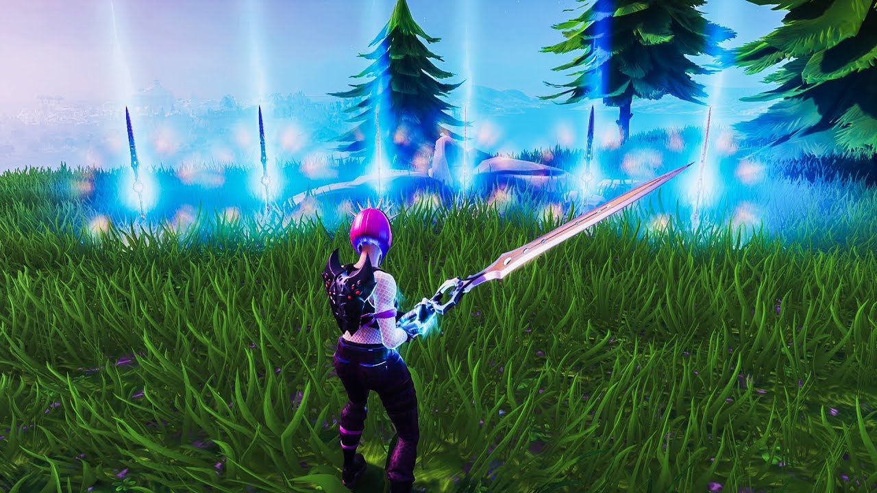 How To Duplicate The Infinity Blade In Fortnite Creative Mode