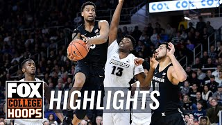 Xavier vs Providence | Highlights | FOX COLLEGE HOOPS