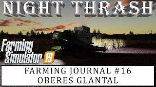 NIGHT THRASH (FS19 OBERES GLANTAL) | Farming Simulator 19 PC | Farming Journal #16