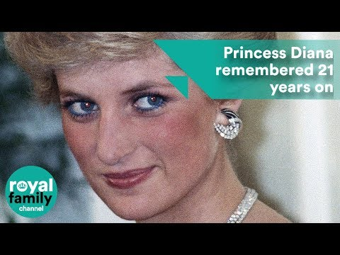 Princess Diana remembered on the 21st anniversary of her death