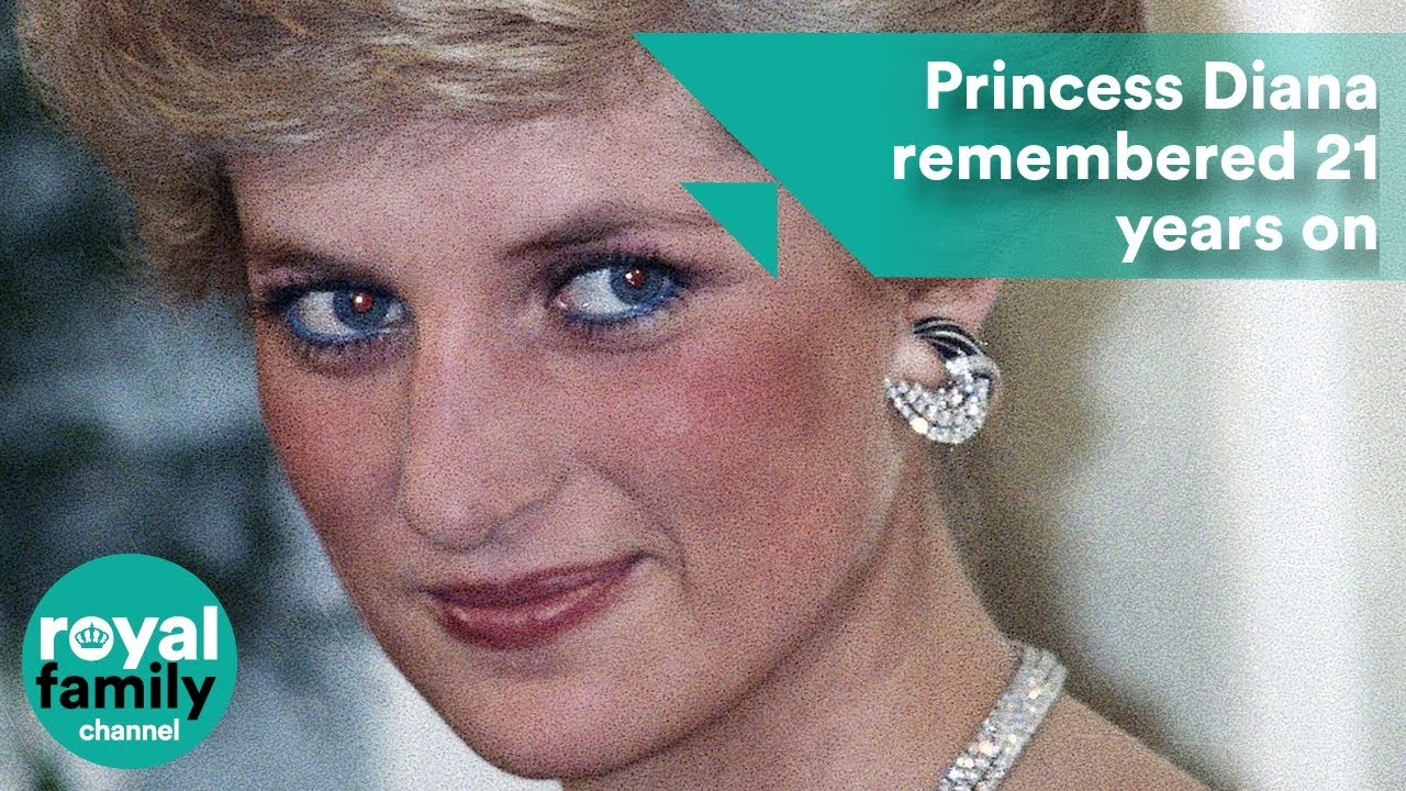 Princess Diana Remembered On The 21st Anniversary Of Her Death Youtube