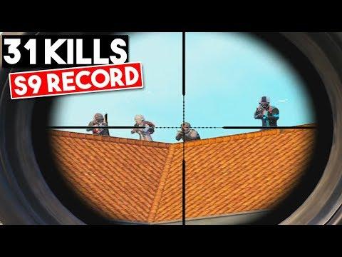 S9 RECORD! | 31 KILLS SOLO Vs SQUAD | PUBG Mobile 🐼