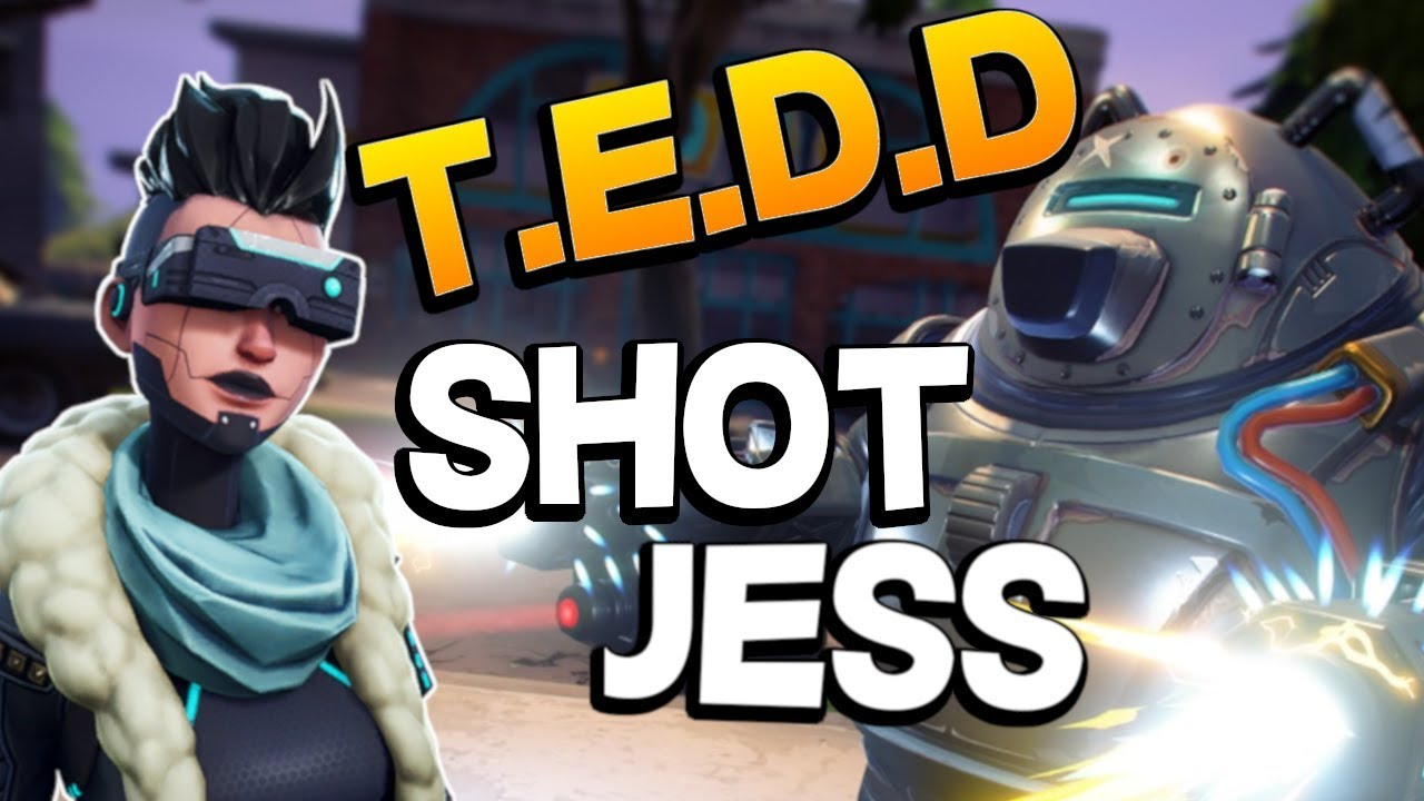 T.E.D.D.Y POWER!!! - TEDD Shot Jess in Fortnite Save the ...