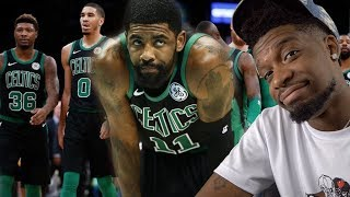 I Don't Think Your Teammates Like You Kyrie.. CELTICS vs HORNETS HIGHLIGHTS