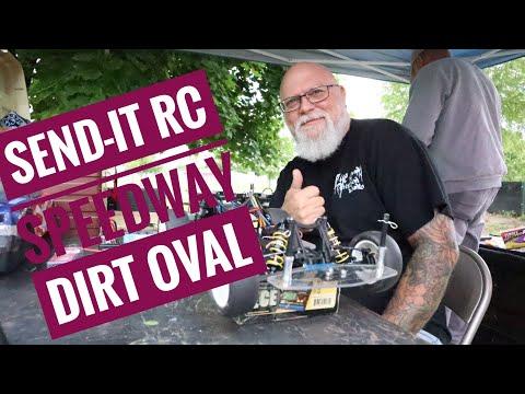 RC Dirt Oval Racing-A Day At Send It Raceway______dirt Racing,dirt Track Racing,radio Control