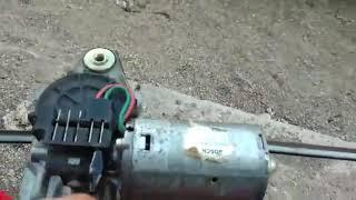 Probando motor de limpiaparabrisas