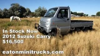 Custom 2012 Suzuki Carry 4x4 In Stock Now!
