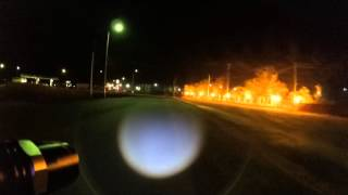 Тест камеры, ночь. Макат