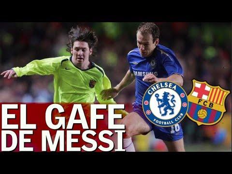 El gafe de Messi contra el Chelsea - Diario AS - 동영상