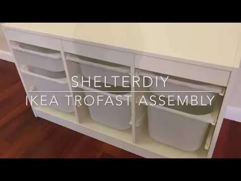 Ikea Trofast Assembly